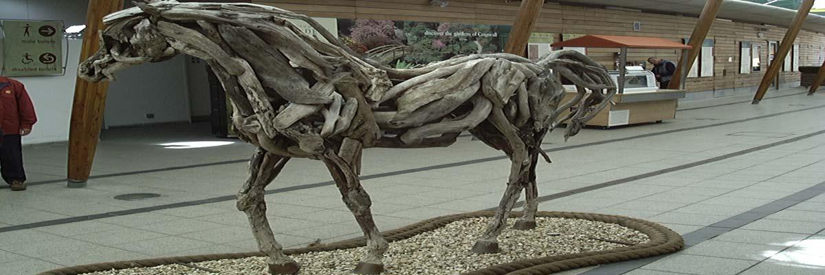 Wood Horses