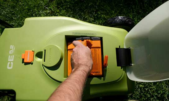 Neuton Electric Lawn Mower