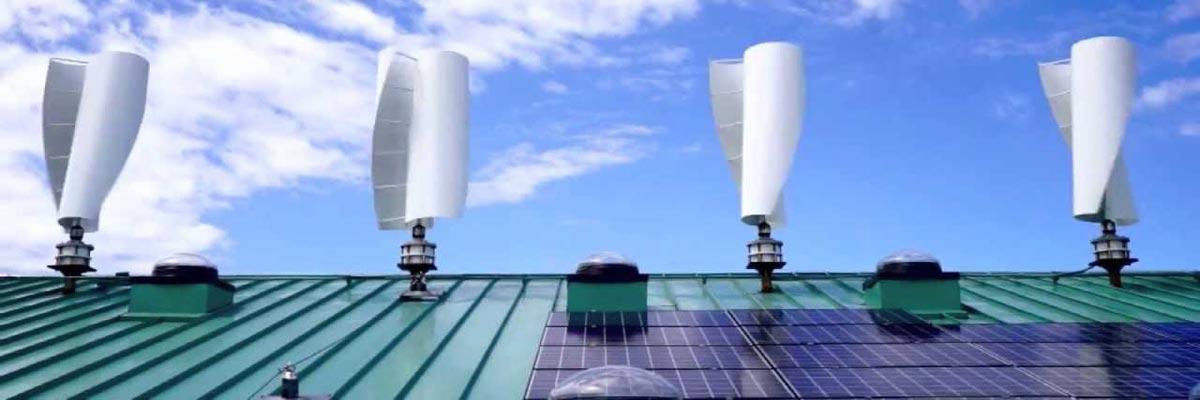 Bluenergy Solar Wind Turbine