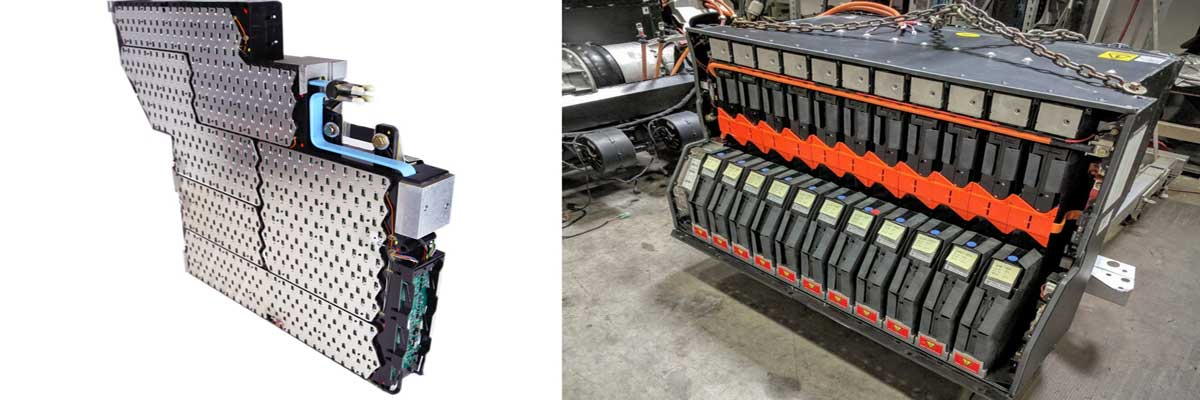 Tesla Roadster's battery pack