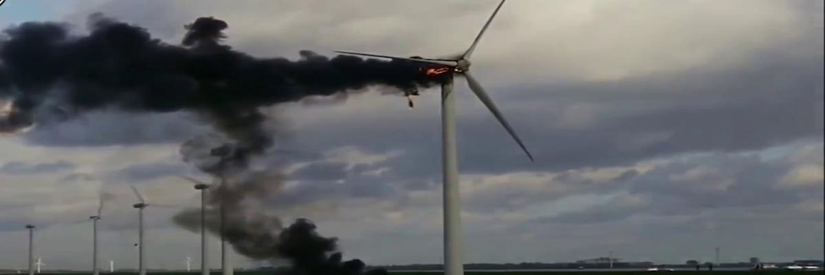 Wind Turbine Attacked