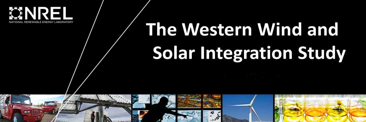 NREL Western Wind and Solar Integration