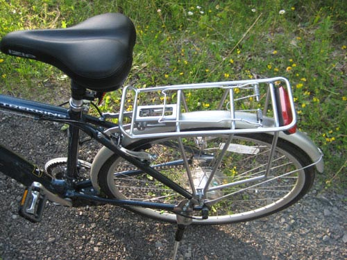 Hybrid Electric Bike Back