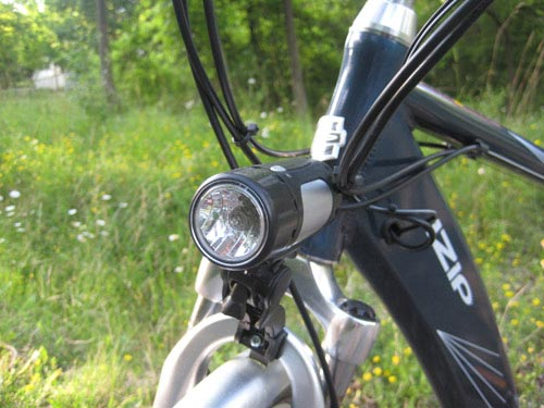 Hybrid Electric Bike Light